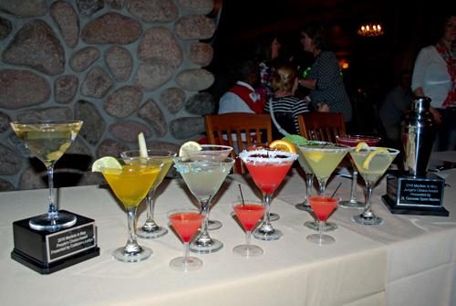 Martinis in May in Saint Germain, Wisconsin